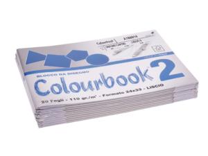 BLOCCO C.BOOK/2 24x33 LISCIO 110G FG.20