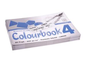 BLOCCO C.BOOK/4 24x33 LISCIO 220G FG.20