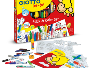 GIOTTO BE BE STICK & COLOR SET