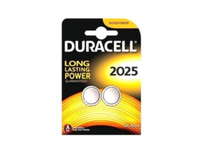 DURACELL BATTERIE 2025 X2