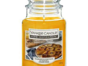 SPICED PINEAPPLE CAKE LARGE JAR YANKEE CANDLE