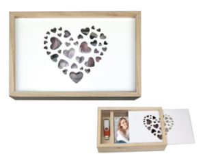 ZEP CORNICE LOVE BOX USB 13X18 ART. CZ1257