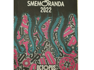 SMEMORANDA DIARIO 16 MESI 2022 OCTOPUS PINK 13X17,7